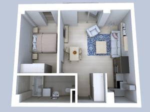 2 izbový byt č.201 - Rezidencia Komenského