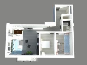 3 izbový byt č.203 - Rezidencia Komenského