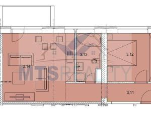 2-izbový byt, kompletná rekonštrukcia, Martin - Sever
