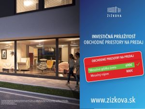 Žižkova - Polyfunkčný dom Novostavba Košice IV - Juh