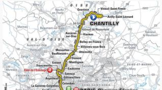 21. etapa Tour de France: Mapa, profil a favoriti