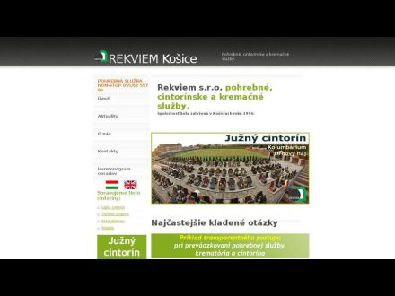 www.rekviem.sk