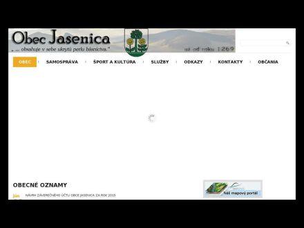 www.jasenica.sk