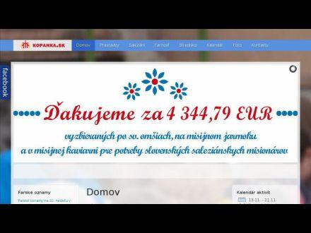www.kopanka.sk