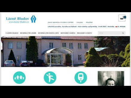 www.lazne-bludov.cz