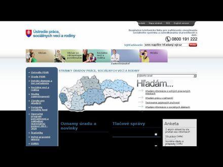 www.upsvr.sk