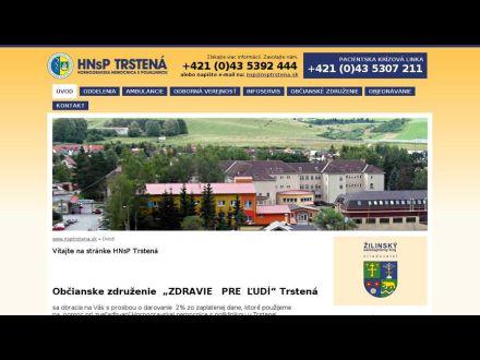 www.nsptrstena.sk