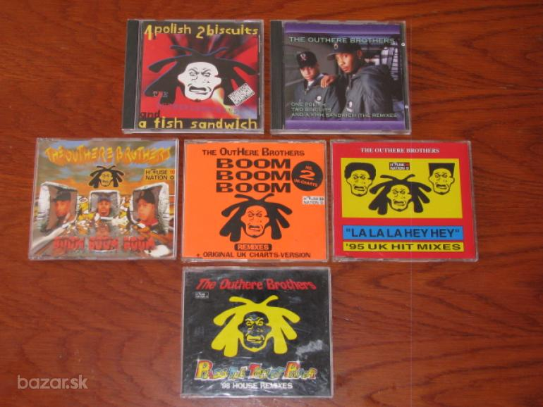 Outhere Brothers  1xCD+ 4xMaxi-cd