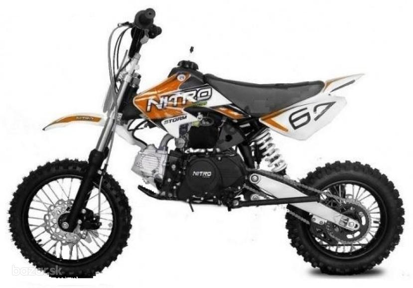 Nitro cross Storm 125 cc Automat, E-start, 14x12