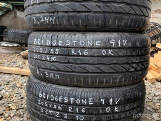 R16 205/55 Bridgestone 3x4mm DOT2010