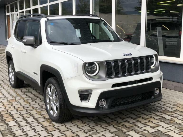 Jeep Renegade 1.3 Turbo PHEV 190 k Limited 4xe HYBRID AT