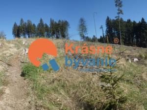 Na predaj lesný pozemok Turčianske Teplice Rudno