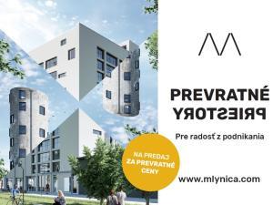 Mlynica - od 1.415 Eur s DPH na m2