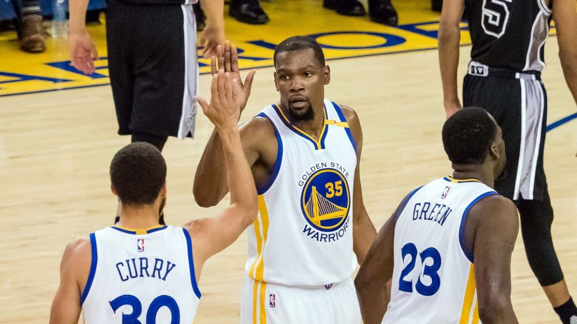 Golden State Stephen Curry Kevin Durant maj17 Reuters
