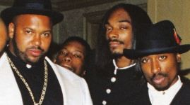 Marlon Knight, Snoop Dogg a Tupac Shakur.