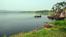 Lake Victoria - source of the Nile, Napoleon Gulf, Uganda