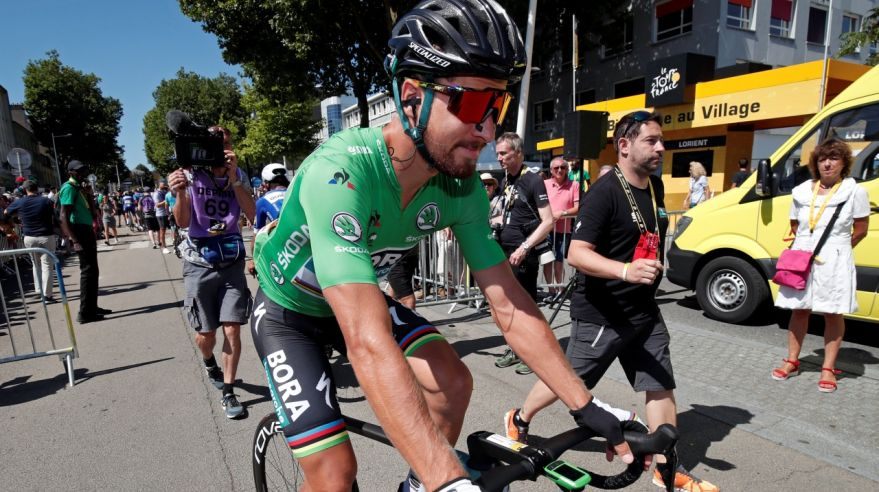 Peter Sagan na Tour de France 2018.