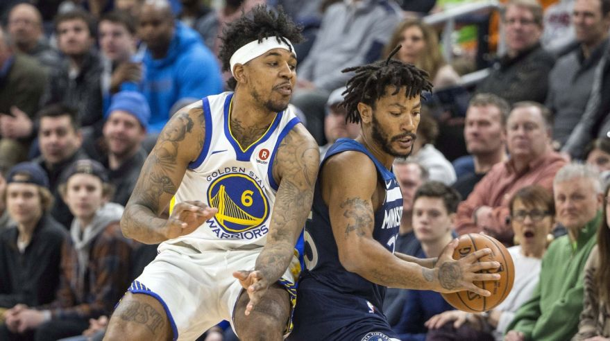 Minnesota Timberwolves - Golden State Warriors (Nick Young, Derrick Rose)