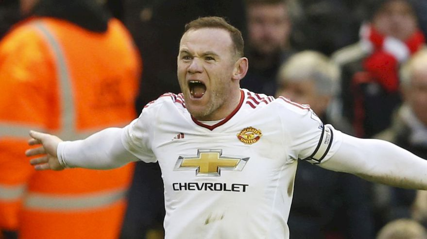 Wayne Rooney Manchester United gol jan16 Reuters
