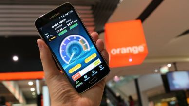 test LTE operátora Orange