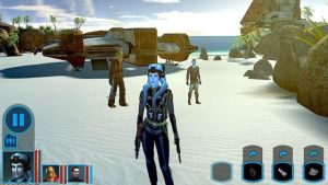 Star Wars: Knights of the Old Republic zamieril na Android