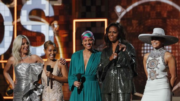 Lady Gaga, Jada Pinkett Smith, Alicia Keys, Michelle Obama, Jennifer Lopez