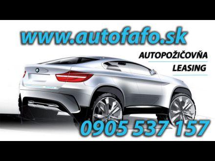 AUTOFAFO – autopožičovňa,  operatívny leasing, obr. 1