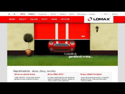 www.lomax-brany.sk