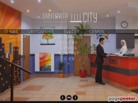 www.ubytovnacity.sk