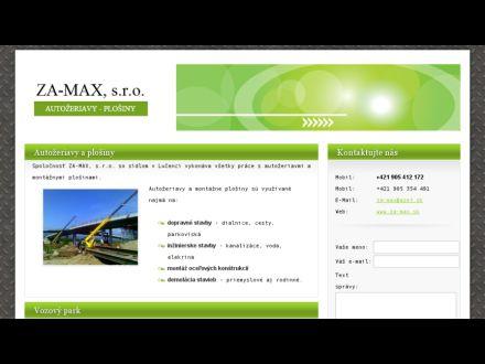 www.za-max.sk