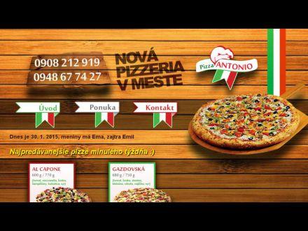 www.pizzeriaantonio.sk