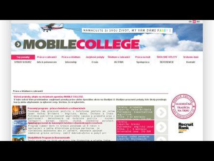 www.mobilecollege.sk