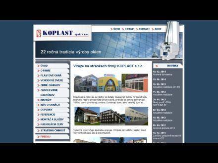 www.koplast-online.sk