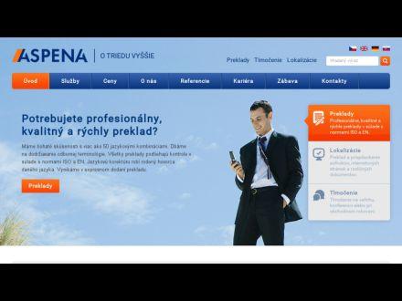 www.aspena.sk