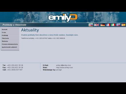 www.emily-d.sk