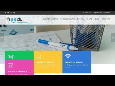 www.freedu.sk