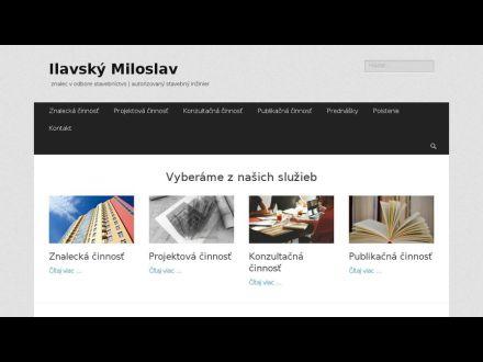 www.ilavsky-miloslav.sk