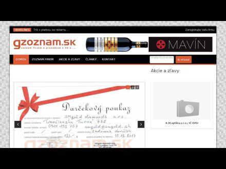 www.gzoznam.sk