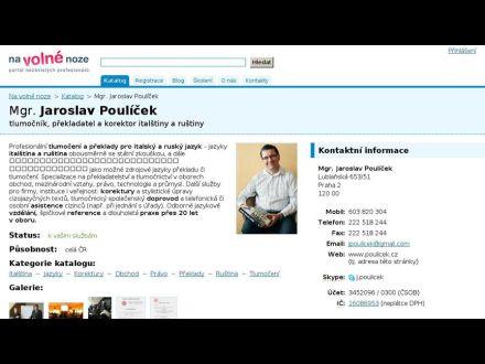 www.poulicek.cz