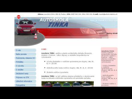 www.autoskolatinka.sk