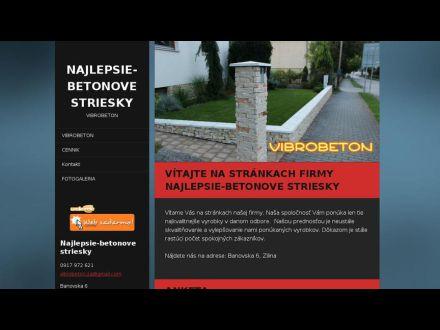 www.najlepsie-betonove-striesky.webnode.sk