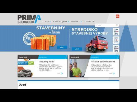 www.primaslovakia.sk
