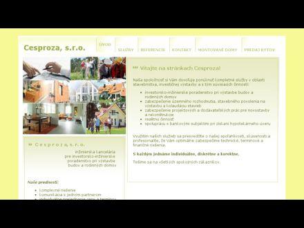 www.cesproza.sk