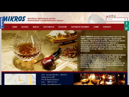 www.mikros.sk