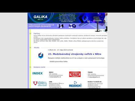 www.galika.sk