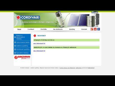 www.cordivari.sk