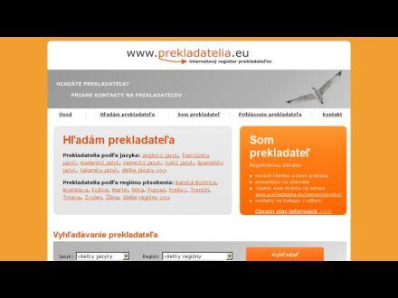www.prekladatelia.eu