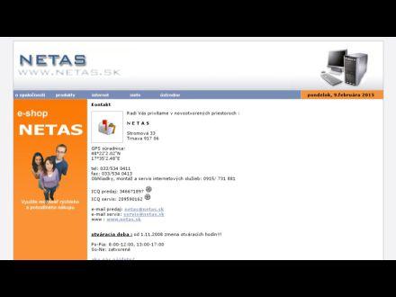 www.netas.sk