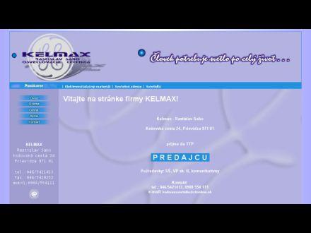 www.kelmax.sk