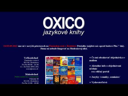 www.oxico.sk